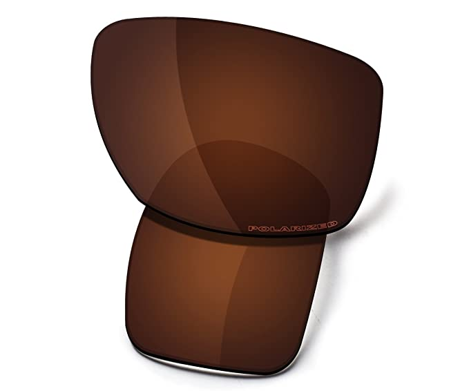 0a8069b3dc8 Saucer Premium Replacement Lenses for Oakley Big Taco Sunglasses High  Defense - Amber Brown Polarized