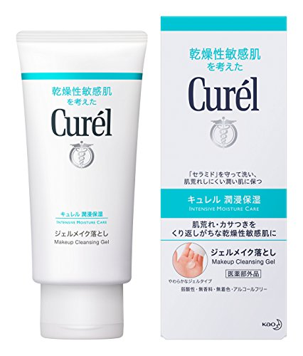 Curel Kao Makeup Cleansing Gel, 130 Gram by Curel