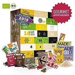 Gourmet Adventskalender mit 24 exclusiven Feinkostartikeln