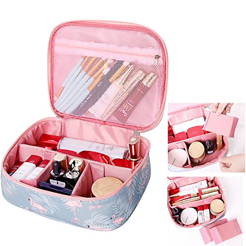 Portable Travel Makeup Cosmetic Bag Organizer Multifunction Case for Women