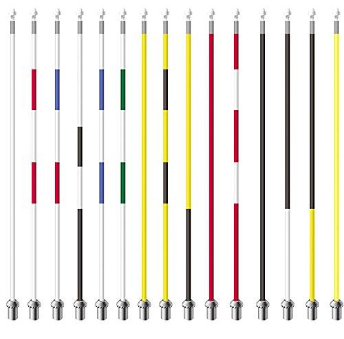 Standard Golf Golf Royaline Flagstick: 7-1/2' - White