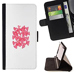 - butterfly white clean pink/ Personalizada del estilo del dise???¡¯???¡Ào de la PU Caso de encargo del cuero del tir???¡¯????n del s - Cao - For HTC DESI