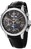 Maurice Lacroix Les Classiques Chronographe Phases de Lune Men's Black Dial Automatic Swiss Made Watch LC6078-SS001-331