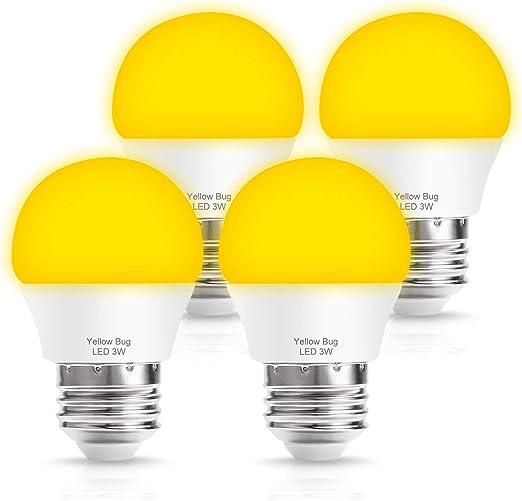 Amazon.com: TechgoMade - Bombillas LED ámbar amarillas con ...