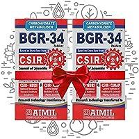 Aimil Carbohydrate Metaboliser BGR-34-100 Tablets (Pack of 2)