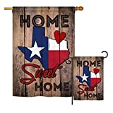 Ornament Collection S191119-BO State Texas Home Sweet Home Americana States Impressions Decorative Vertical House 28″ X 40″ Garden 13″ X 18.5″ Double Sided Flags Set Printed in USA Multi-Color Review