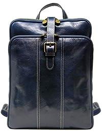 Venezia Leather Knapsack Backpack Satchel