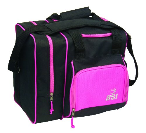 (BSI Deluxe Single Ball Tote Bag (Black/Pink))