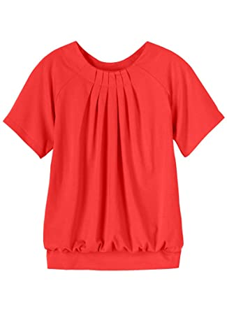 65c27c925d2227 Banded Bottom Top at Amazon Women's Clothing store: