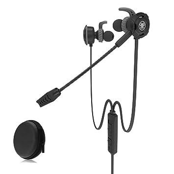 Sencillo Vida Auriculares Gaming Cascos Gaming con Cable y Micrófono In Ear Sonido Estéreo Ergonómico Cancelación