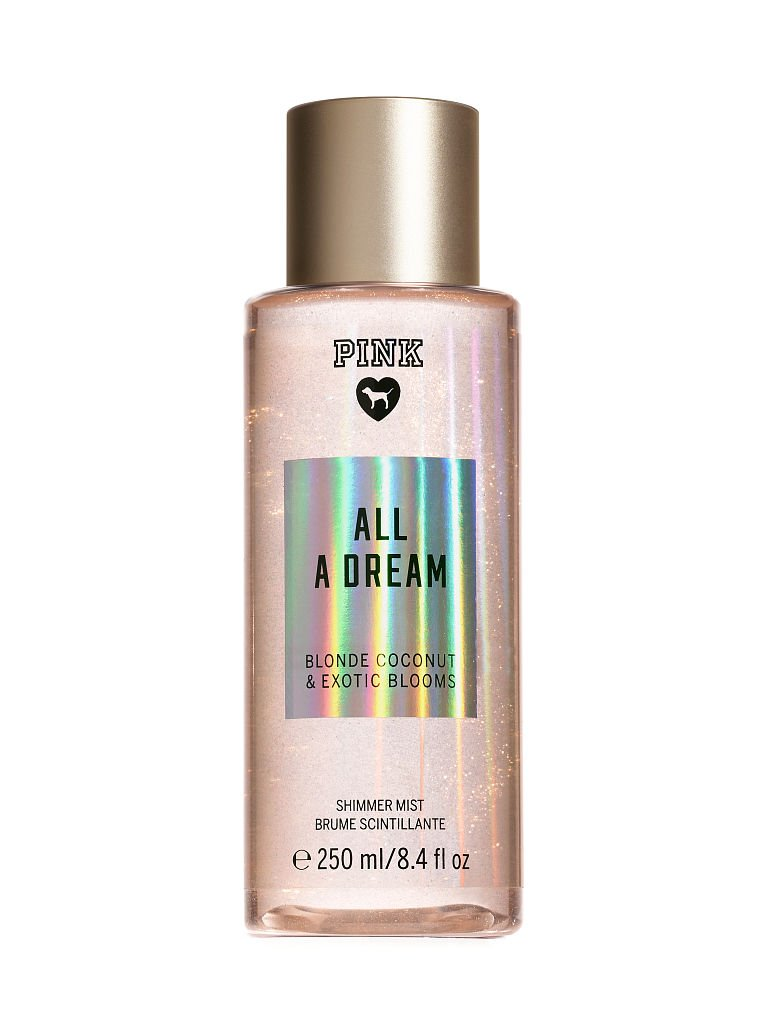 Victoria's Secret PINK NEW! ALL A DREAM SHIMMER BODY MIST 250ml Victoria Secret