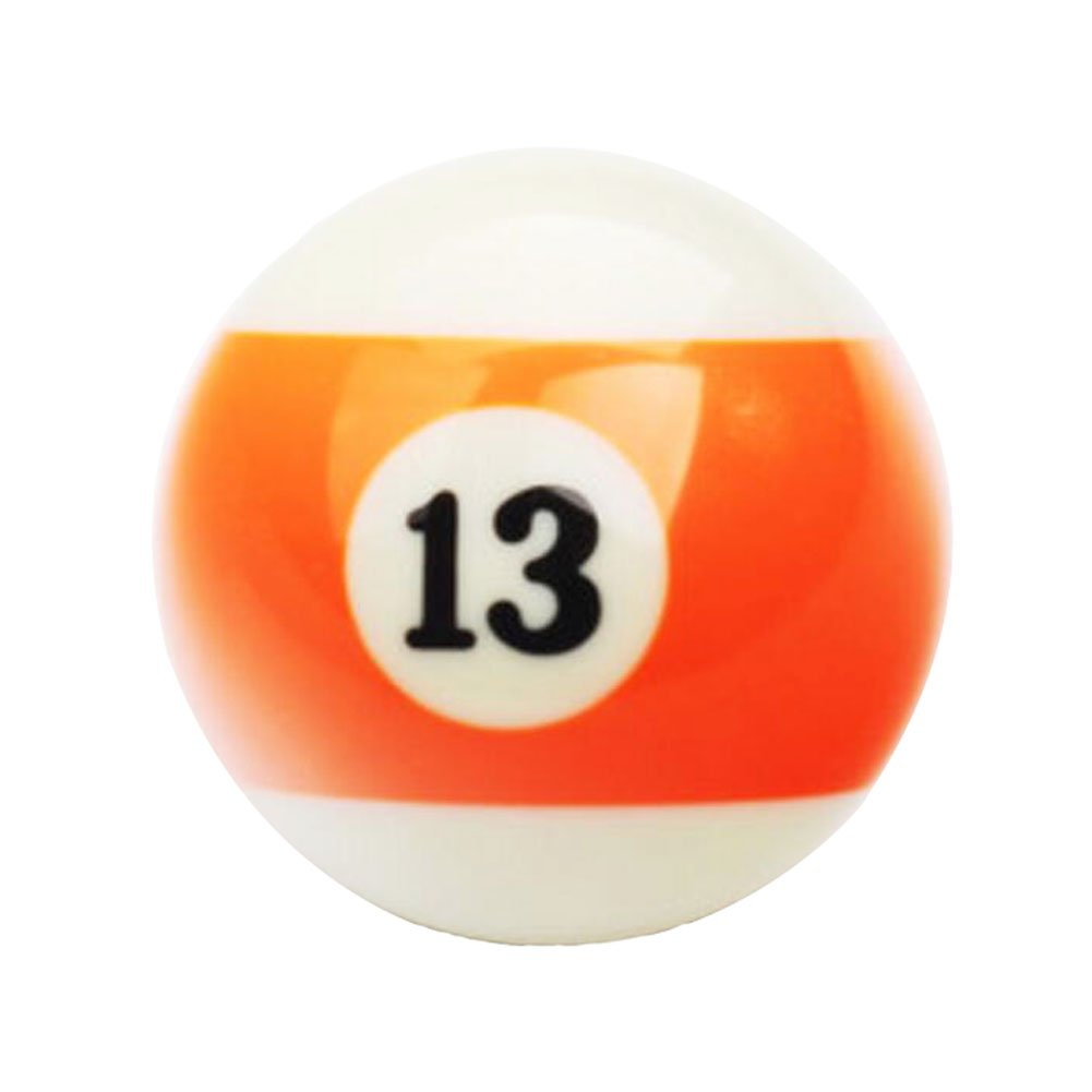 Black Temptation 1 PCS Cue Sport Snooker USA Pool Bolas de Billar 57.2 mm / 2-1/4 - NO.13