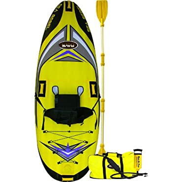 Rave Sea Rebel Inflatable Kayak with Pump