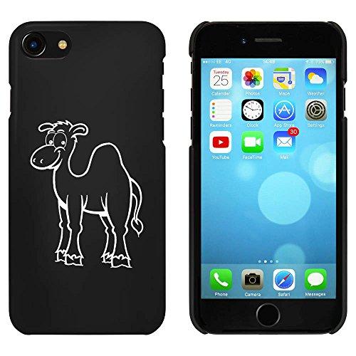 Noir 'Heureux Chameau' étui / housse pour iPhone 7 (MC00067167)