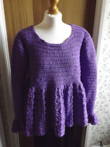 No 11 Cluster Aran Tunic (mrs crochet ()
