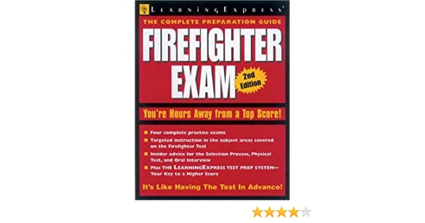 Firefighter Exam 2e Learning Express 9781576854402 Amazon Books