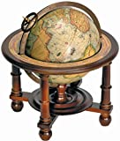 Navigator's Wooden Globe With Stand