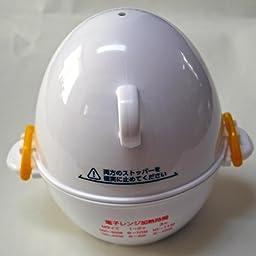 Amazon Co Jp カスタマーレビュー 曙産業 ゆでたまご器 3個用 日本製 電子レンジで簡単安全にゆで卵が作れる 半熟 固ゆでが思いのまま フタは安全2点ロック式 加熱時間を短縮できるエコモード レンジでらくチン ゆでたまご Re 278