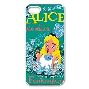 Alice in Wonderland iPhone 5 Case Hard Plastic iPhone 5 Case