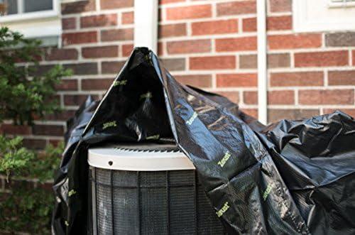 Zerust 34 in x 34 in x 30 in Rust-Prevention Air Conditioner Unit Cover