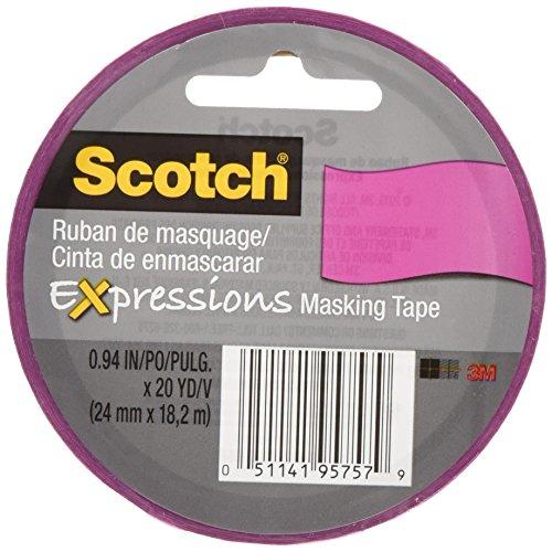 Masking Tape Pink (Scotch Decorative Masking Tape .94
