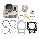 Cylinder Piston Rings Gasket Kit Set for Honda Rancher TRX 350 2000 2001 2002 2003 2004 2005 2006