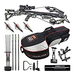 Killer Instinct Ripper 415 FPS Crossbow Kit with Slayer Case and NAP Broadheads Bundle