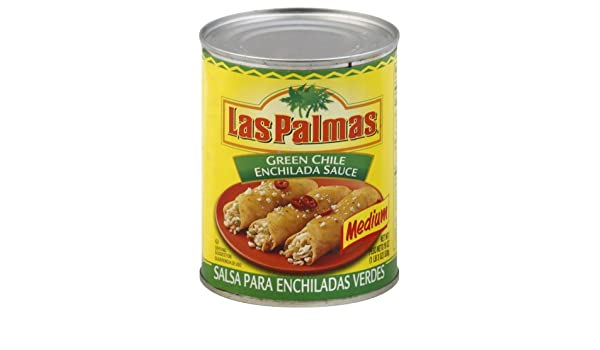 Amazon.com : Las Palmas® Medium Green Enchilada Sauce, 19-ounce Can (Pack of 12) : Grocery & Gourmet Food