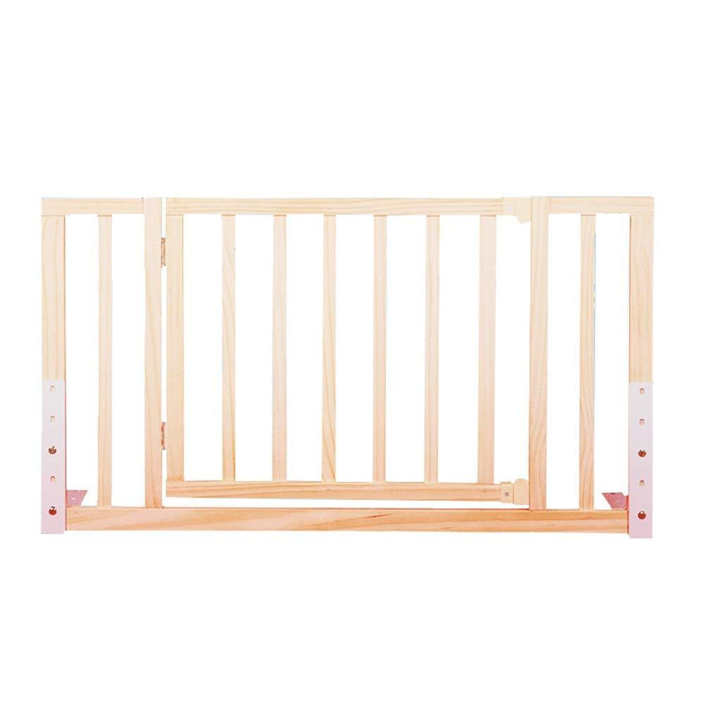 ベッドレール 赤ちゃん木製ベッドレール、ドア付き高調整子供ベッドフェンスベッドサイドバッフル、1.8メートル/ 2メートルベッドユニバーサル (サイズ さいず : With door 98cm) With door 98cm  B07PM5RBDG