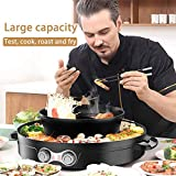 SEAAN Electric Hot Pot Grill Pan Indoor Korean