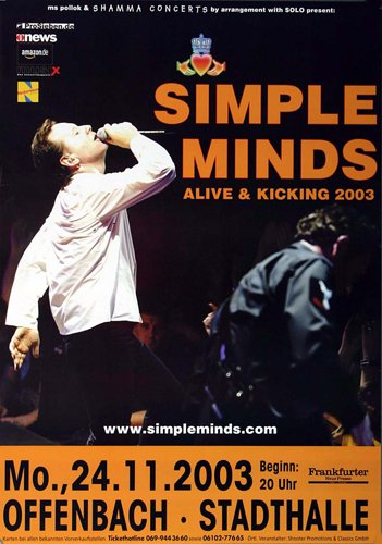 Simple minds alive and kicking movie