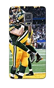 Christmas Day's Gift- New Arrival Cover Case With Nice Design For Galaxy note4- Green Bay Packers Nfl Football Rf