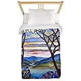 CafePress Tiffany Frank Memorial Window Twin Duvet Twin Duvet Cover, Printed Comforter Cover, Unique Bedding, Microfiber
