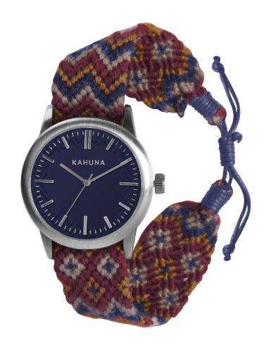 Kahuna KGF-0007G – Reloj para hombres, correa de tela color azul