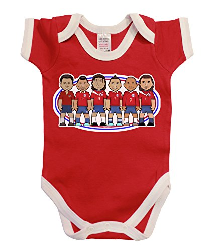 VIPwees Babygrow Chile Football Legends Boys & Girls, used for sale  Delivered anywhere in USA