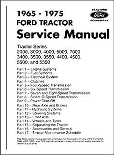 [DIAGRAM_4PO]  1965-1975 FORD TRACTOR FACTORY REPAIR SHOP & SERVICE MANUAL 2000, 3000,  400, 7000, 3400, 3500, 3550, 4400, 4500, 550, 5550: FORD TRACTOR MOTORS, FORD  TRACTOR MOTORS, FORD TRACTOR MOTORS, FORD TRACTOR MOTORS, | Ford Tractor Wiring Diagram 4000 |  | Amazon.com