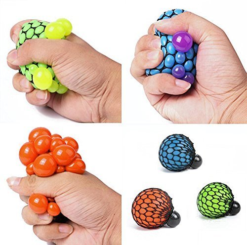 Squishy Ball Neon Mesh Squishy Ball : Neon Mesh Squishy Ball (Assorted Colors) pack of 1 New eBay