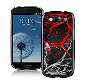 Michael Jordan Logo Black Samsung Galaxy S3 Cellphone Case Lovely and Grace Look