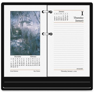 At-A-Glance(R) Full-Color Desk Calendar Refill, 3 1/2in. x 6in.