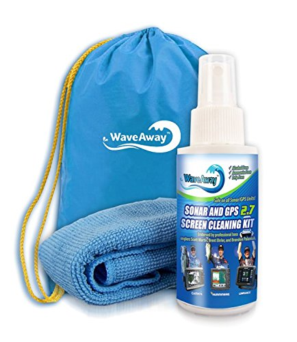 Wave Away TH-Marine Sonar & GPS Screen Cleaner Kit, 2.7 oz