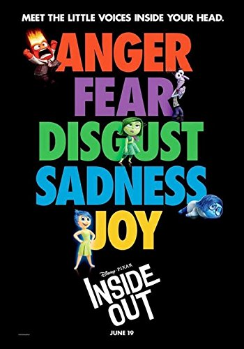 Inside Out Original Movie Poster - Ds - Version C - Amy Poehler -