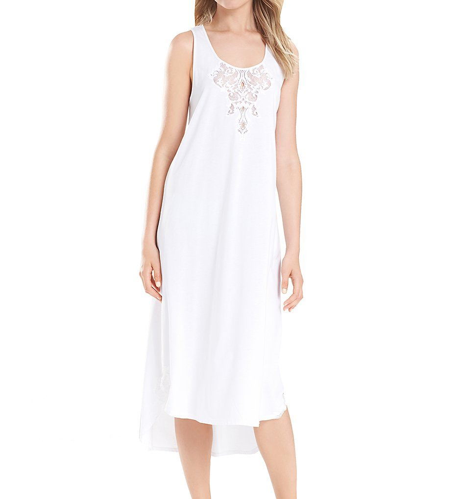 Natori Women's Bliss Gown, White, Medium