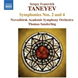 Taneyev: Symphony No. 2 In B Flat/ Symphony No. 4 In C Minor