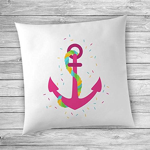 Summer Home Decor Ideas, Nautical Decor Bedroom, Nautical Pillow, Anchor Decor (Nautica Bathroom Sets)