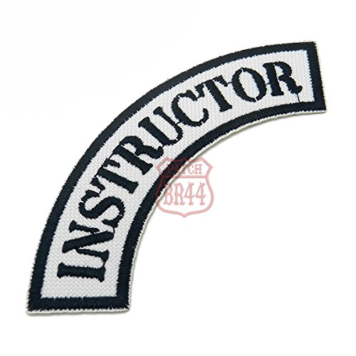 EML100 Instructor Shoulder Embroidered Patch Iron or Sew