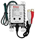 High Level to RCA Converter | BOSS Audio B65N Noise Filter for Car Audio Systems