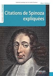 Citations de Spinoza expliquées par Halévy