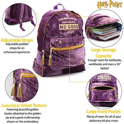 LUNA LOVEGOOD Bag Girls School Backpack Shiny Wizard Bag Personalised PH17