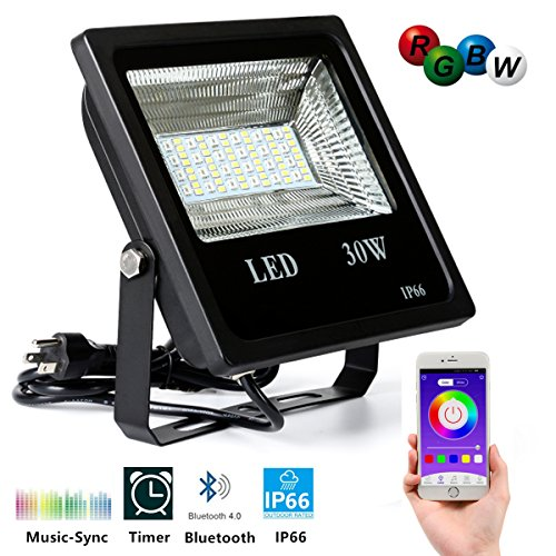 Outdoor Led Bluetooth Motion Security Light - 6
