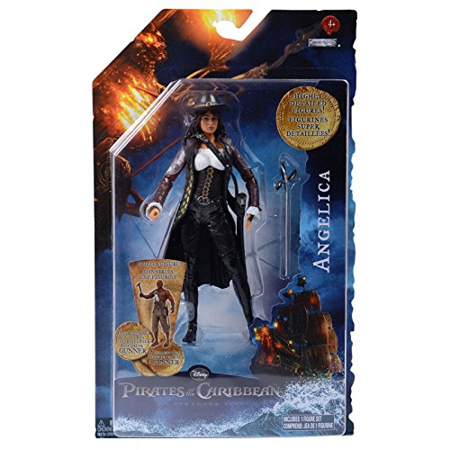 Pirates of the Caribbean On Stranger Tides 6 Inch Series 1 Action Figure Angelica ()